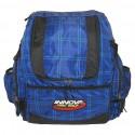 Discgolfový batoh HeroPack modře kostkovaný