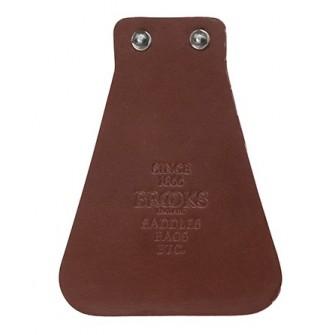 BROOKS Mud flap - kožená zástěra na blatníky - hnědá