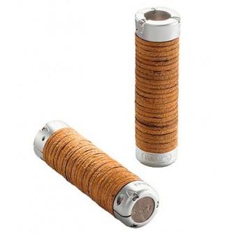 BROOKS Plump Leather Grips - kožené gripy s nastavitelnou délkou