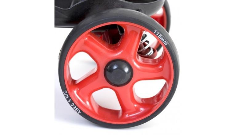 Náhradní kolečko Skorpionskates Multi Terrain černo-červená