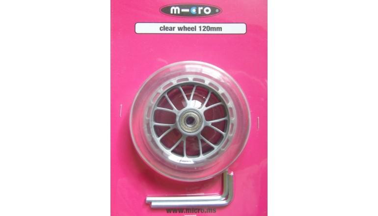 Kolečko Micro čiré 120mm s ložisky
