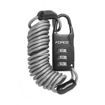 Zámek BBB MicroSafe kódový 120cm