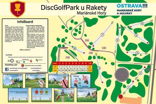 Discgolfpark Ostrava u Rakety