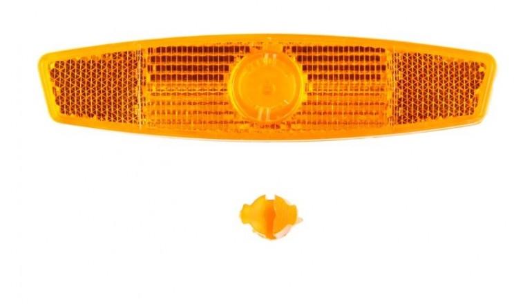 Odrazka do výpletu oranžová univerzální
