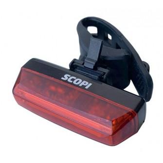 Světlo zadní Extend Scopi + brzdový senzor (USB)