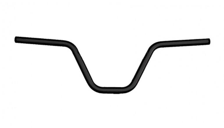 Řídítka BMX bez hrazdy - sundané z nové koloběžky