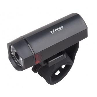 Světlo přední Pro-T 40lm LED černé