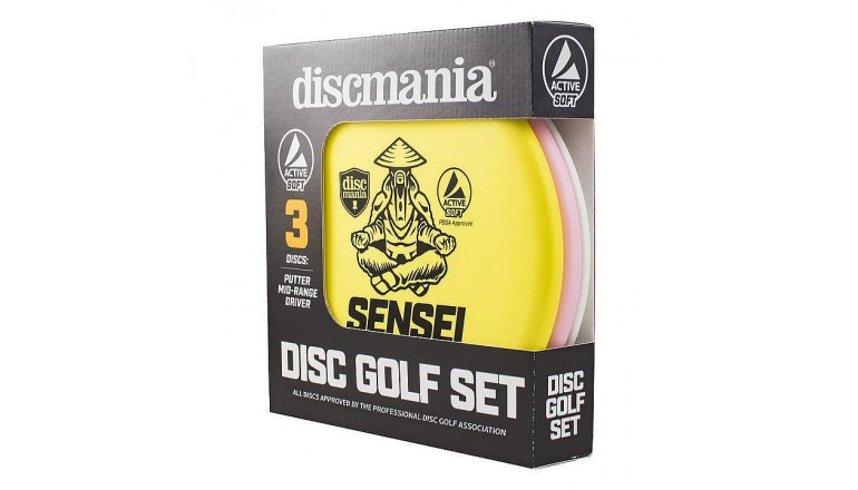 Discgolfová sada Dismania Active Soft