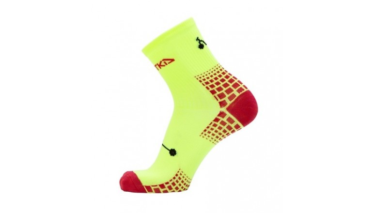 Sportovní ponožky Kostka Sport - reflexní žlutá