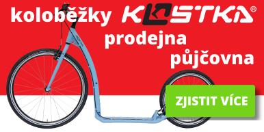 Prodejna a půjčovna koloběžky Kostka v Ostravě