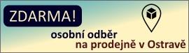 Osobní odběr zboží na prodejně v Ostravě zdarma